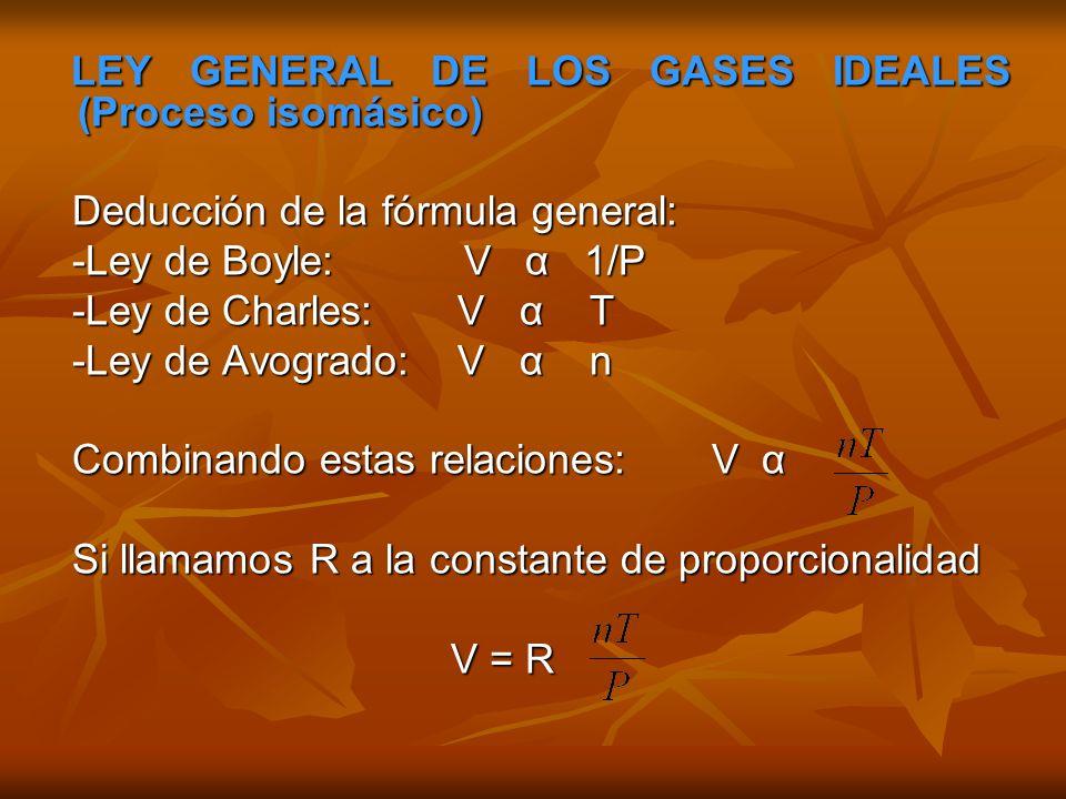 ECUACIÓN UNIVERSAL DE LOS GASES IDEALES ECUACIÓN UNIVERSAL DE LOS GASES IDEALES Relación matemática entre las cuatro variables de estado.