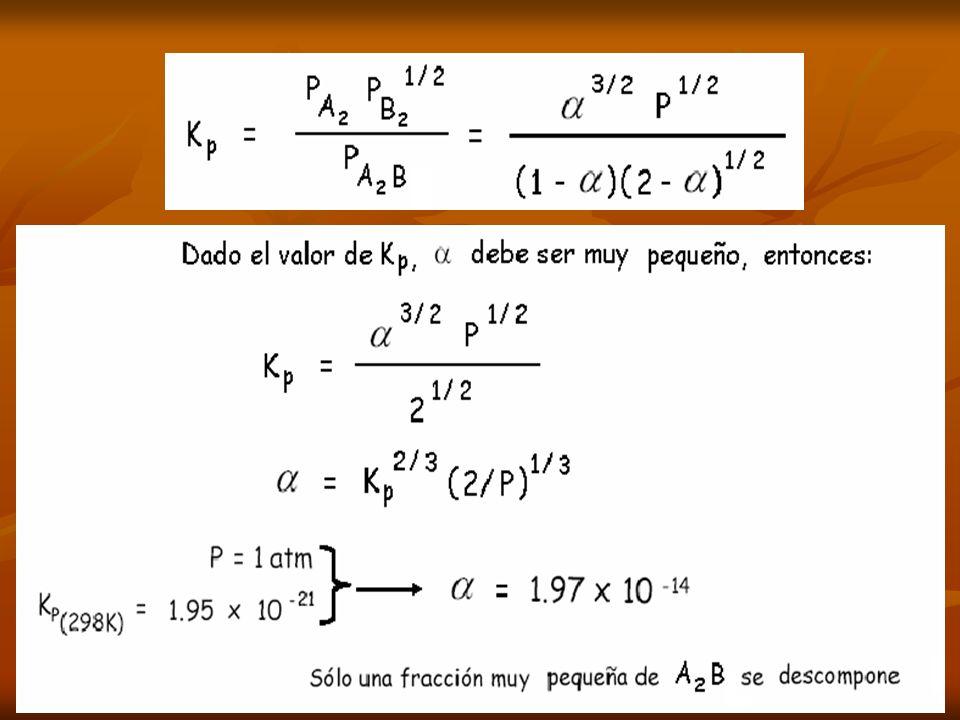 PRINCIPIO DE LE CHATELIER PRINCIPIO DE LE CHATELIER Si un sistema en equilibrio es perturbado por un cambio de temperatura, presion o concentracion de uno de los componentes, el sistema desplazará su posicion de equilibrio de modo que se contrarreste el efecto de la perturbacion.