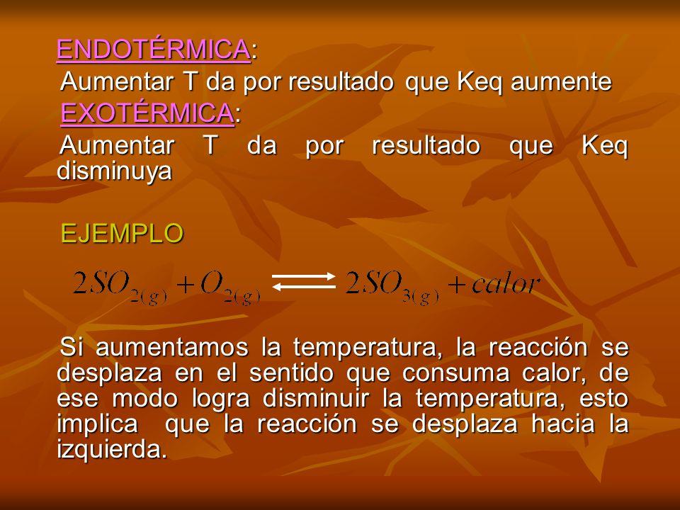 EFECTO DE UN CATALIZADOR EFECTO DE UN CATALIZADOR El catalizador aumenta la rapidez de las reacciones directa e inversa.
