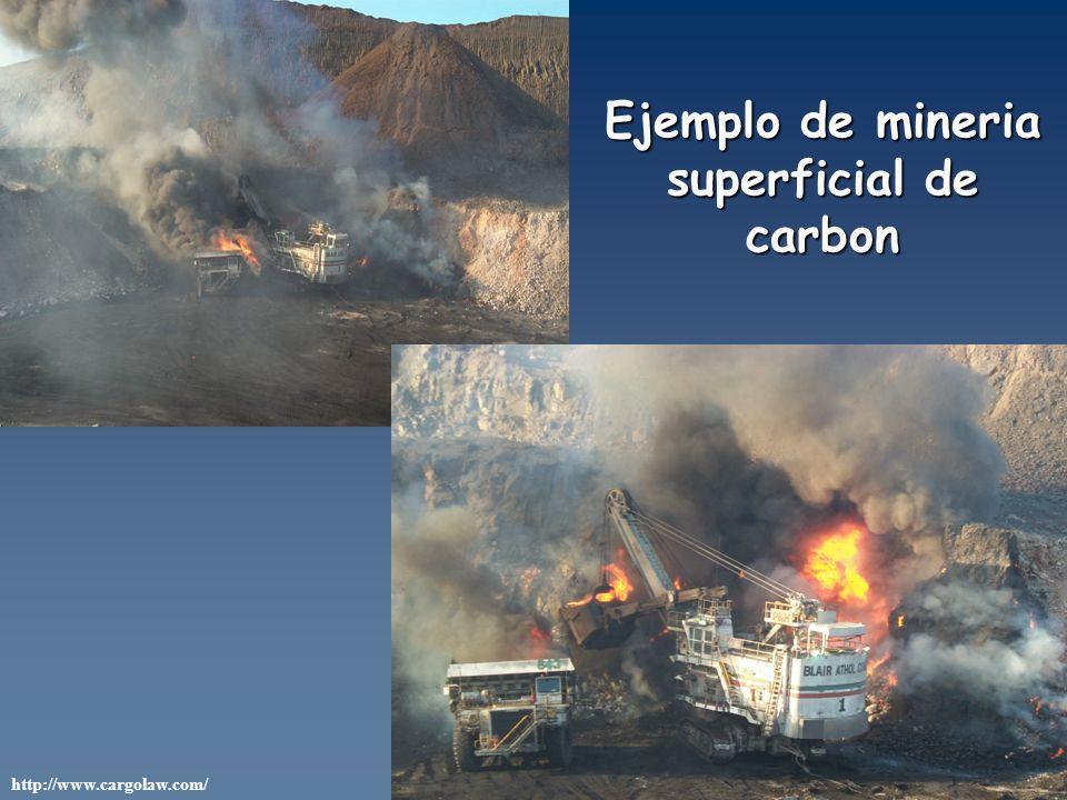 http://www.cargolaw.com/ Ejemplo de mineria superficial de carbon