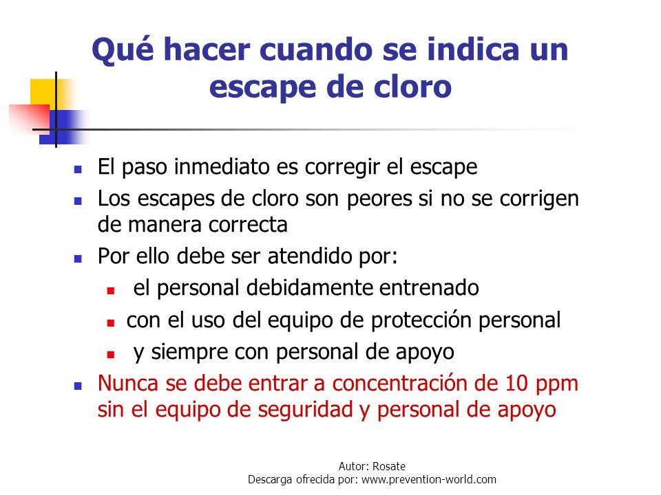 Autor: Rosate Descarga ofrecida por: www.prevention-world.com Control de Emergencias Una situación de emergencia puede ocurrir durante: La manufactura