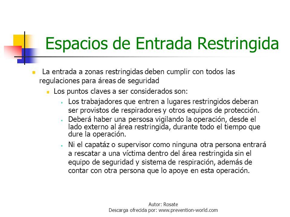 Autor: Rosate Descarga ofrecida por: www.prevention-world.com Equipos de Protección Personal Equipo Respiratorio: Mascara con cartucho químico tipo ca
