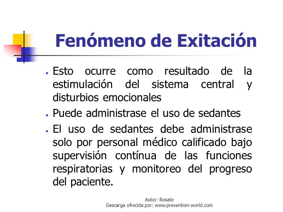 Autor: Rosate Descarga ofrecida por: www.prevention-world.com Incremento de la Secresión Mucosa El tratamiento con presión positiva y nebulizado con d