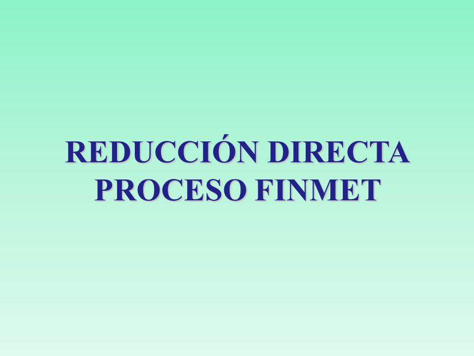 REDUCCIÓN DIRECTA PROCESO FINMET