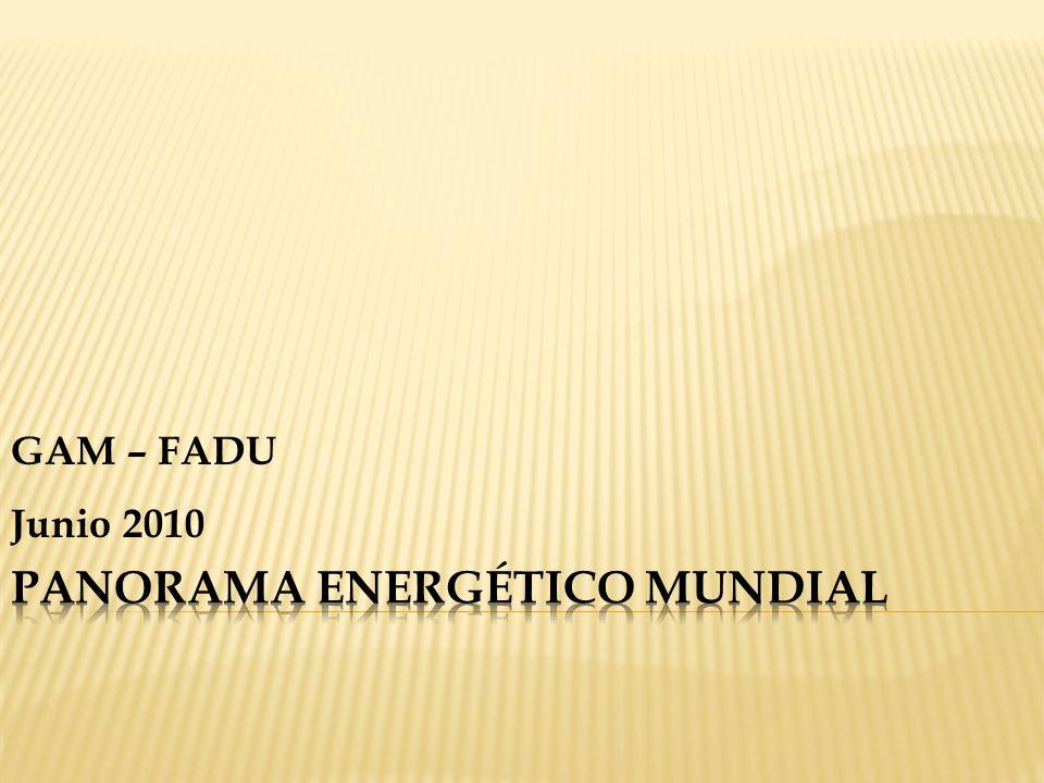 GENERACIÓN DE ELECTRICIDAD CON COMBUSTIBLES FÓSILES - 2008 Fuente: Key World Energy Statistics.
