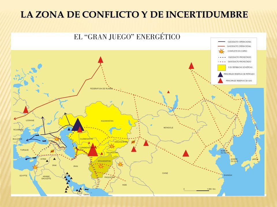 LA ZONA DE CONFLICTO Y DE INCERTIDUMBRE