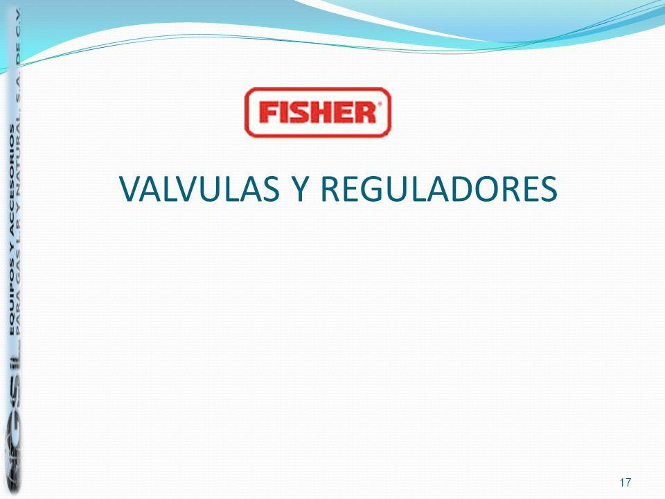 VALVULAS Y REGULADORES 17