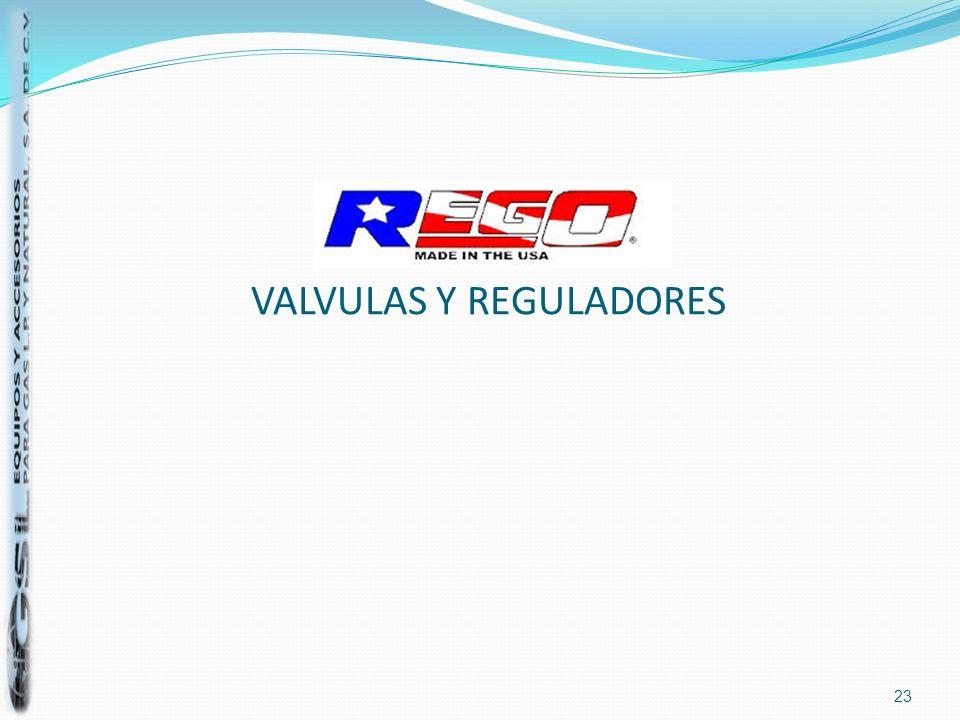VALVULAS Y REGULADORES 23