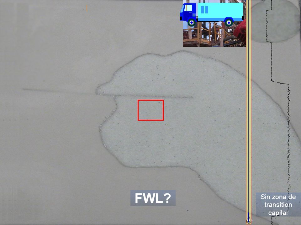 28 Sin zona de transition capilar FWL?