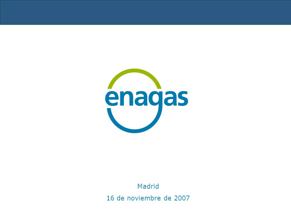 Madrid 16 de noviembre de 2007