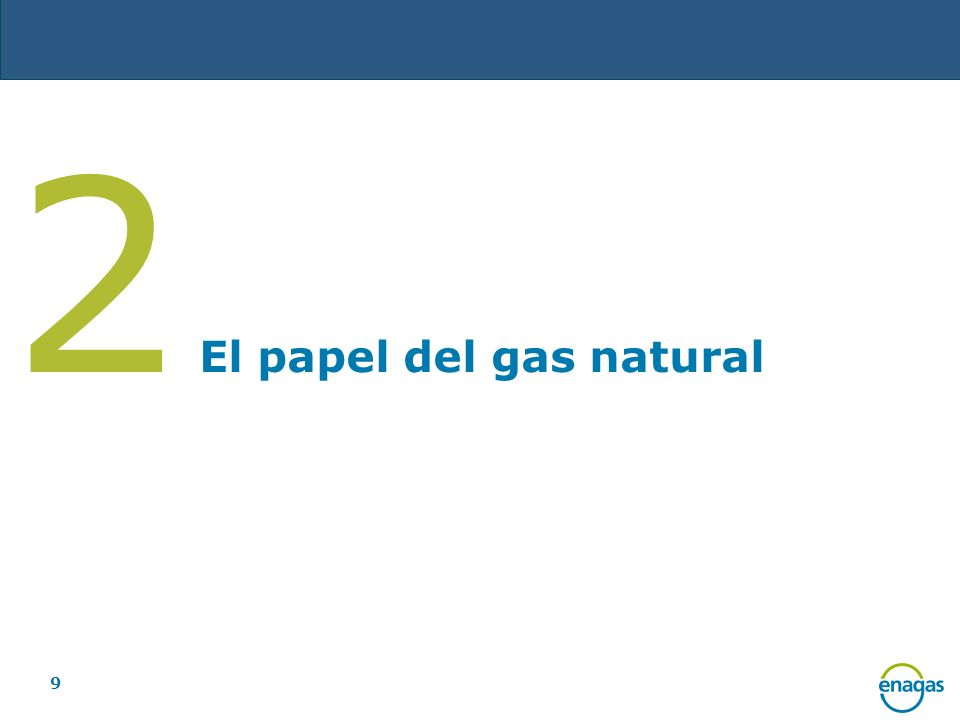 9 2 El papel del gas natural