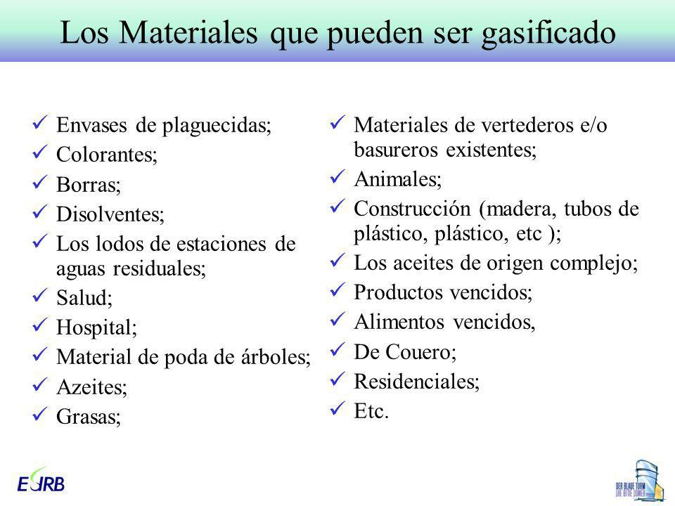 Envases de plaguecidas; Colorantes; Borras; Disolventes; Los lodos de estaciones de aguas residuales; Salud; Hospital; Material de poda de árboles; Az
