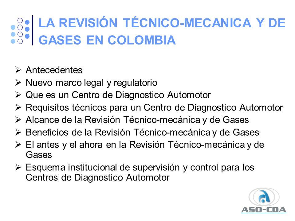 EL ANTES Y EL AHORA EN LA REVISIÓN TÉCNICO-MECÁNICA Y DE GASES Los centros de revisión luego de ser autorizados por concesión no eran objeto de ninguna auditoría de seguimiento o control periódico.