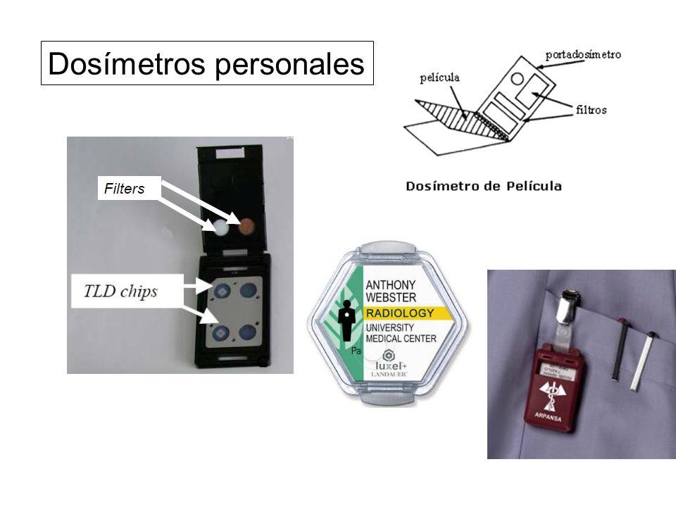 Dosímetros personales