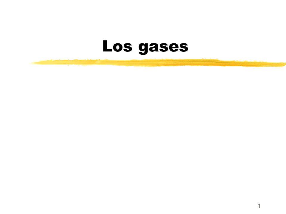 1 Los gases
