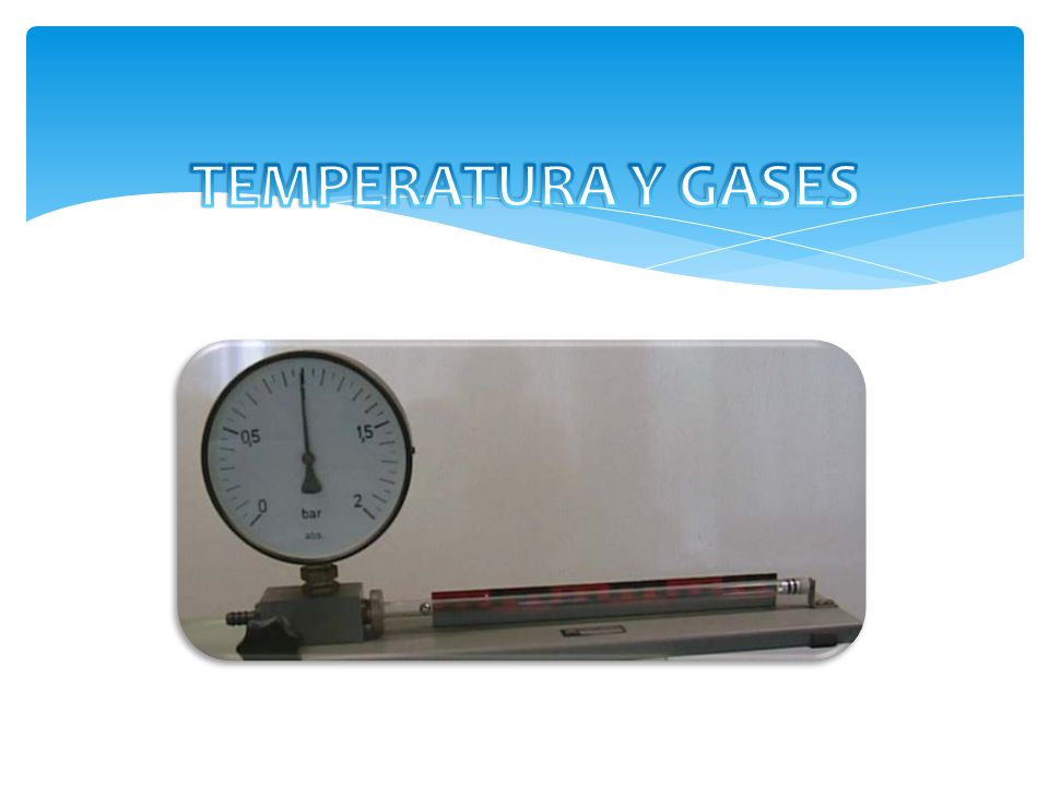 Cierto volumen de un gas se encuentra a una presión de 970 mmHg cuando su temperatura es de 25.0°C.