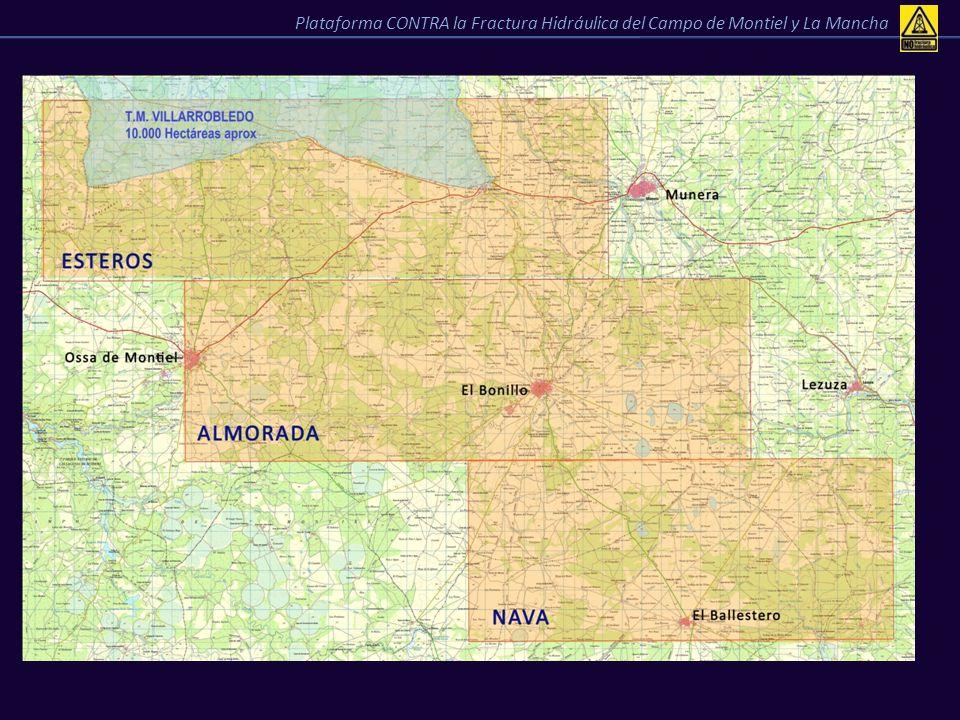 FASES del proyecto de investigación 1º-2º año3er año4º año5º año6º año Geología superficial de campo Primer mapa de puntos de interés Elaboración de permisos Perforación con sondeos de pequeño diámetro Vibrosísmica en no menos de 100 Km Nuevos sondeos exploratorios Nuevos sondeos exploratorios y posibilidades de gas.