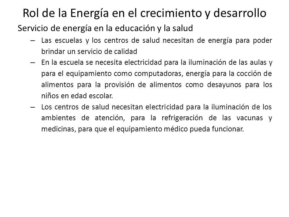 2. Acceso de la Energía en el Perú