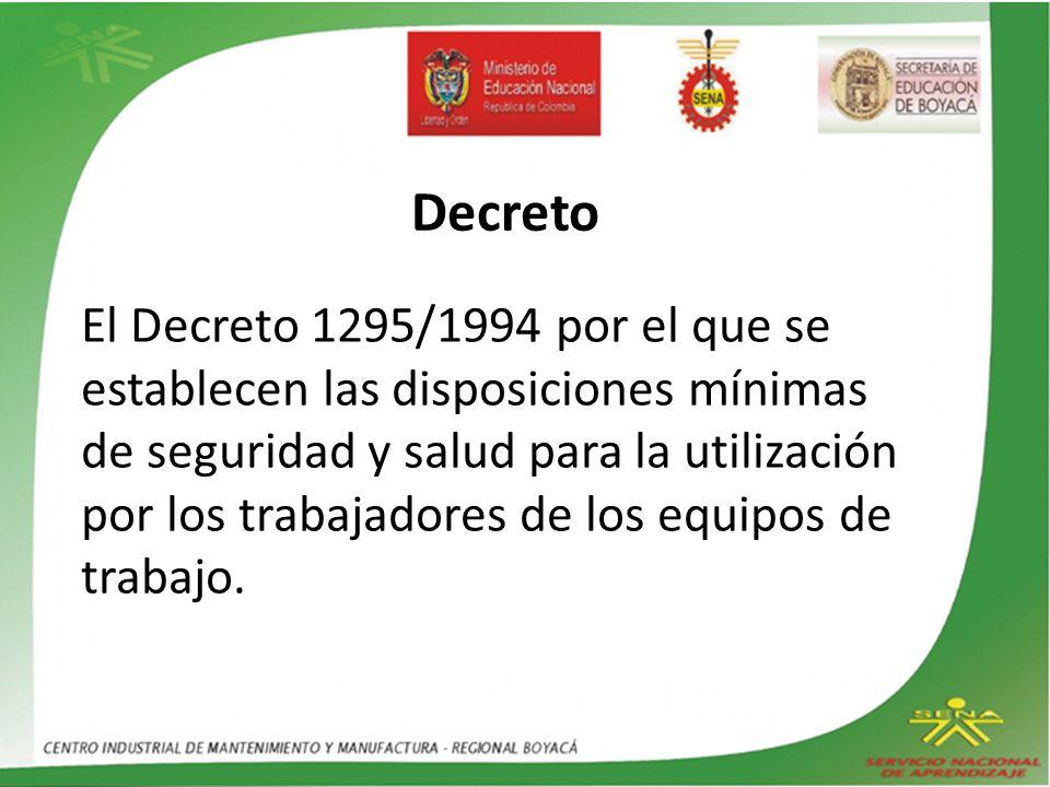 DECRETO 614, DE 1984.