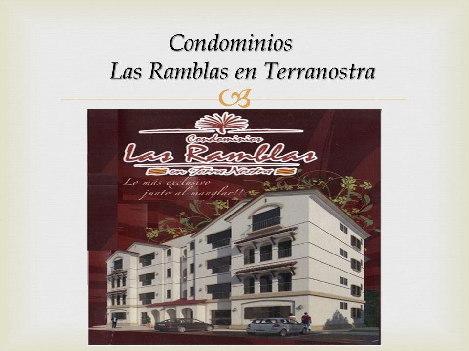 Condominios Condominios Las Ramblas en Terranostra