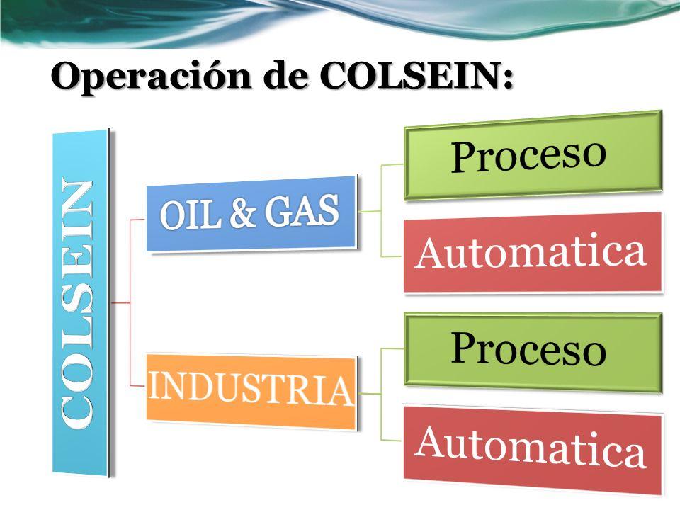 Operación de COLSEIN: