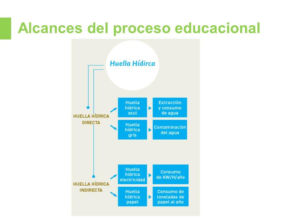 Alcances del proceso educacional