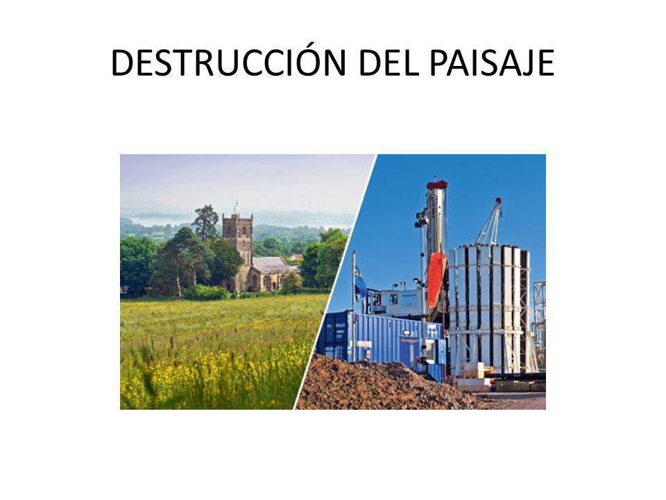 Fuga del fluido por: Sobrepresiones en los conductos Construcción deficiente o deterioro de pozos y revestimientos Migraciones entre las grietas de fracturación Contaminación del agua de los acuíferos por filtraciones Riesgos de incendio y explosión por los altos niveles de metano en los pozos de agua potable Riesgo de explosión de la plataforma de extracción por fracking Sustancias radiactivas extraídas del subsuelo, el máximo es de 5 picocuries/litro y se han medido hasta 16 000 picocuries/litro Metales pesados