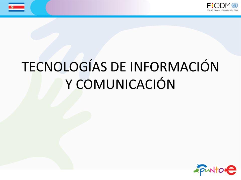TECNOLOGÍAS DE INFORMACIÓN Y COMUNICACIÓN
