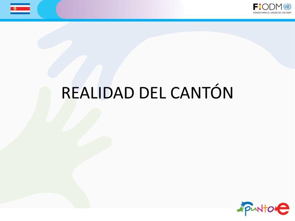 REALIDAD DEL CANTÓN