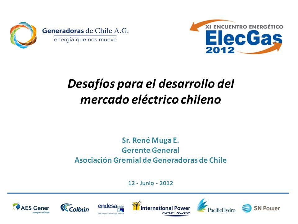 Desafíos para el desarrollo del mercado eléctrico chileno Sr.