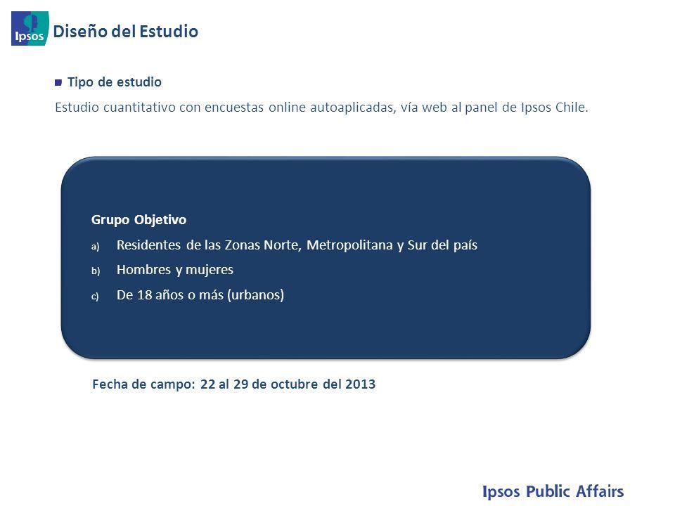 7 Tipo de estudio Estudio cuantitativo con encuestas online autoaplicadas, vía web al panel de Ipsos Chile.
