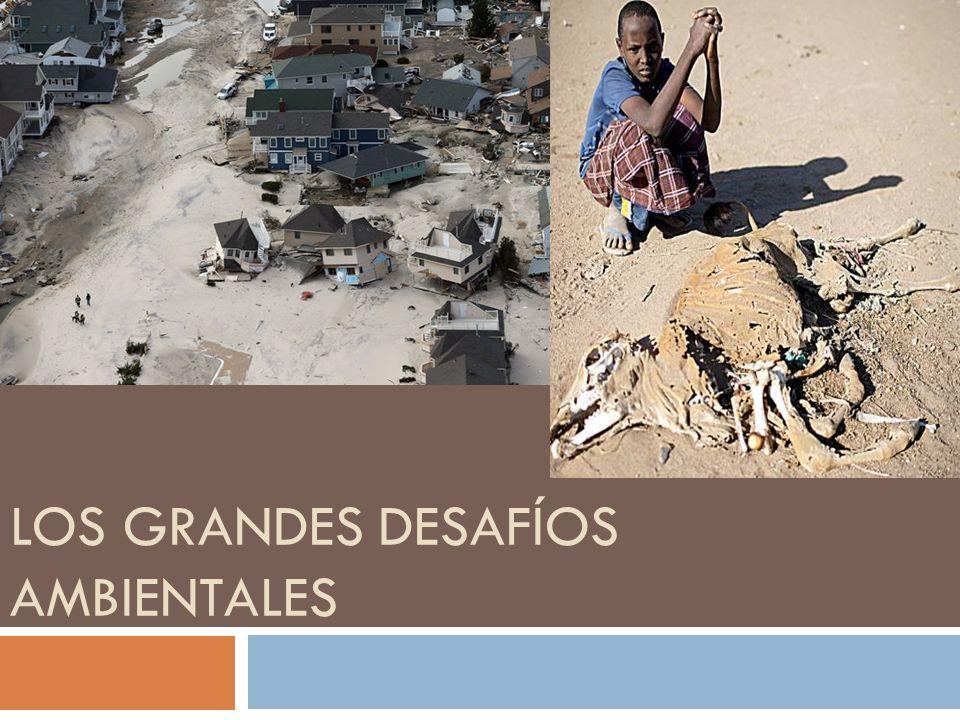 LOS GRANDES DESAFÍOS AMBIENTALES
