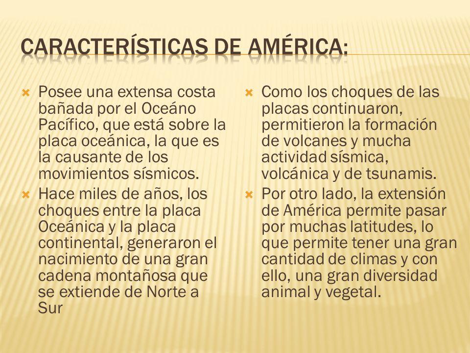 América del Sur: Se ubica entre los paralelos 15° latitud Norte y 56° latitud Sur aproximadamente.