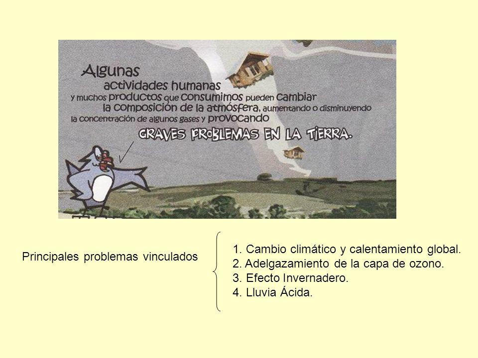 Procesos o actividades realizadas en la troposfera que liberan contaminantes, ya sean gaseosos o partículas en suspensión, y que luego forman parte del aire del ambiente.