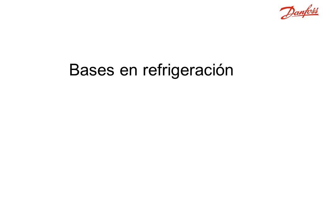 1.Compresor 2. Evaporador 3. Condensador / Recipiente 4.