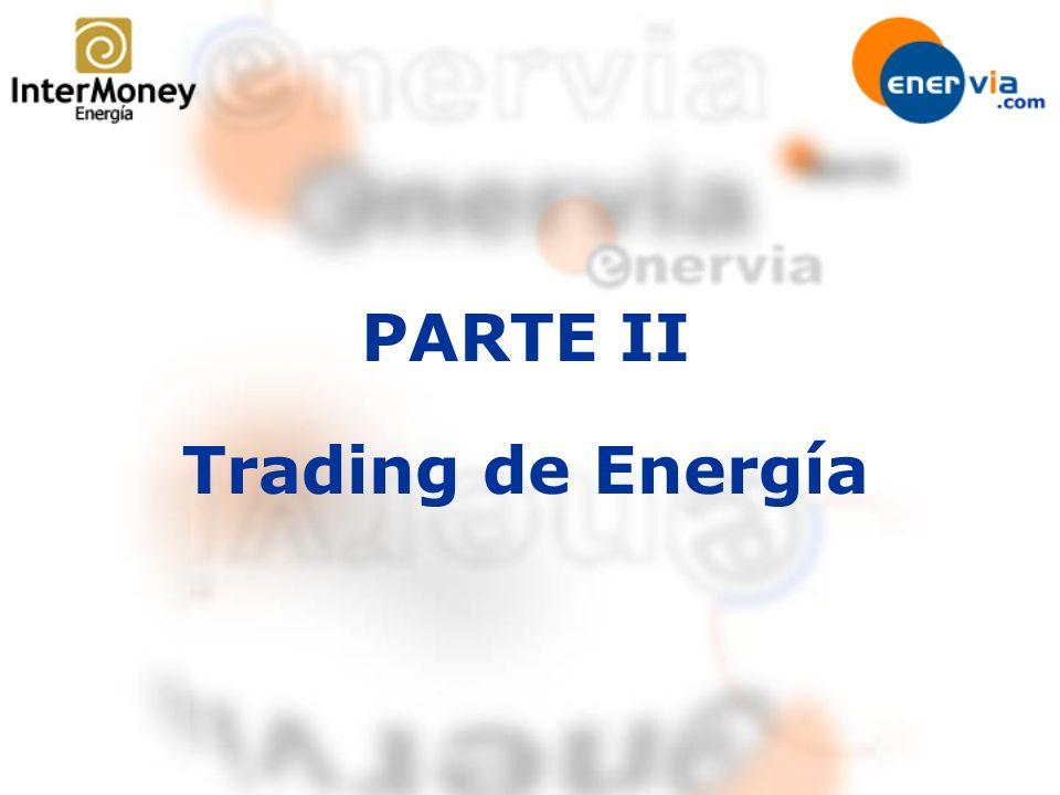 PARTE II Trading de Energía