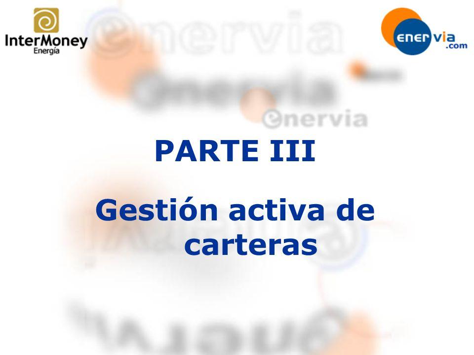 PARTE III Gestión activa de carteras