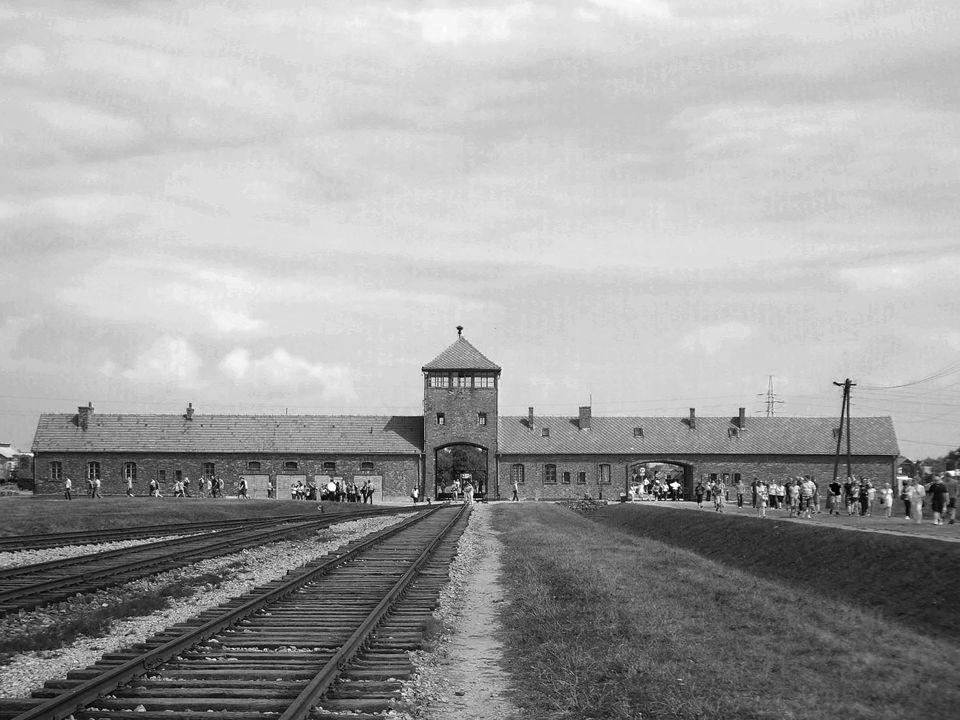 Dentro de la barraca del muro (Auschwitz II – Birkenau) Cada uno de esas barracas estaba atestada de cientos de presos.