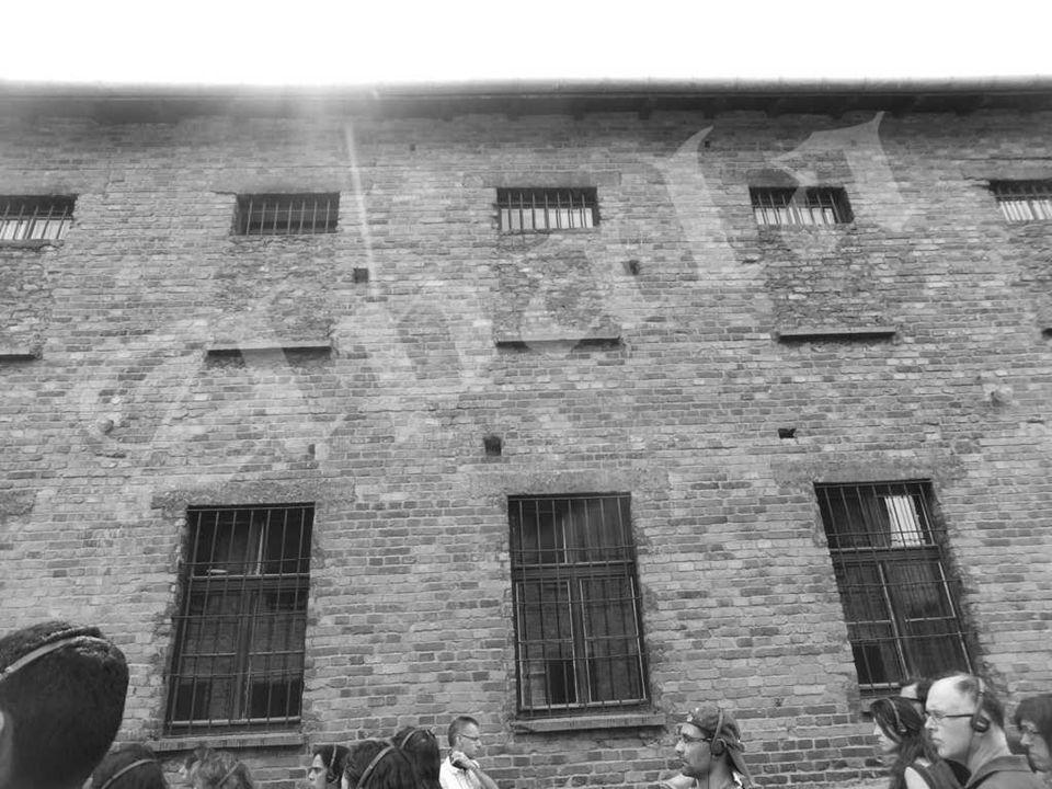 Auschwitz I - (el Muro de la Muerte). Entre 1941 y 1943 las SS fusilaron aquí a miles de personas. La mayoría de las victimas fueron polacas, sobre to