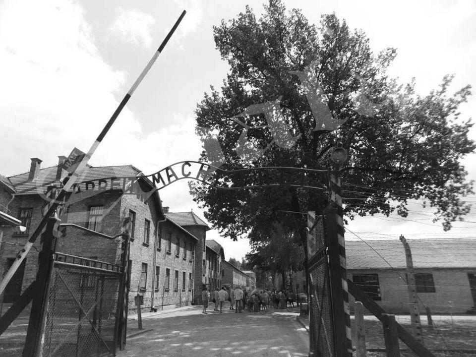 Auschwitz I - (el Muro de la Muerte).Entre 1941 y 1943 las SS fusilaron aquí a miles de personas.