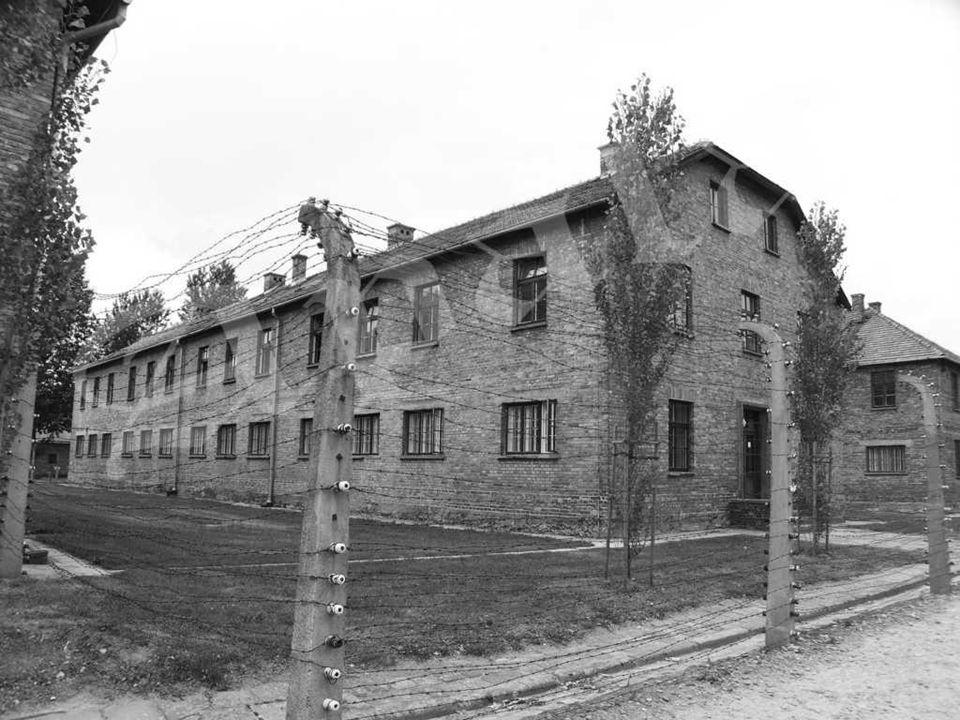 Cabina donde los hombres de la SS responsables de las listas con los numeros de prisioneros, buscaban protección del mal tiempo