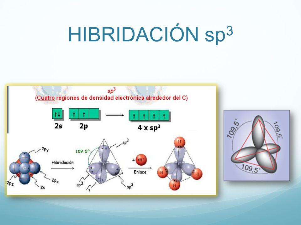 HIBRIDACIÓN sp 3