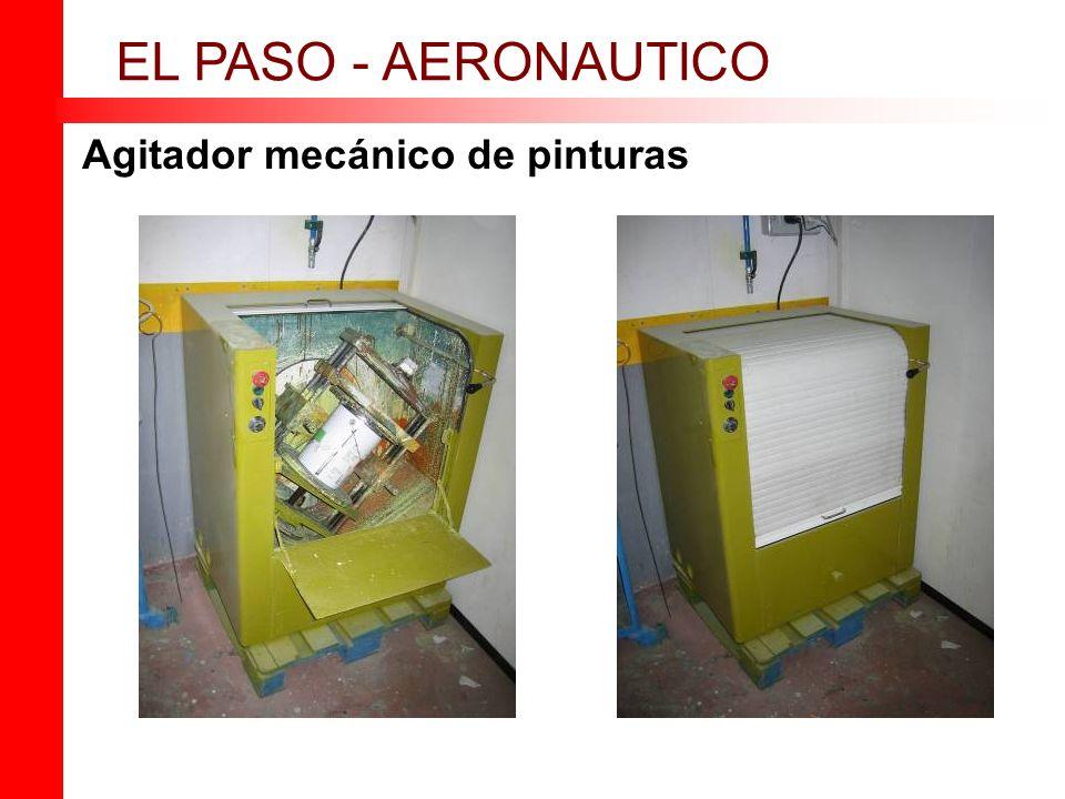 Agitador mecánico de pinturas EL PASO - AERONAUTICO