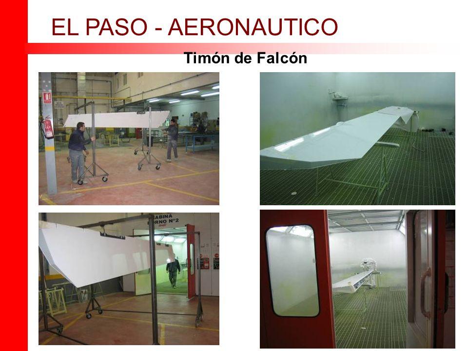 Timón de Falcón EL PASO - AERONAUTICO