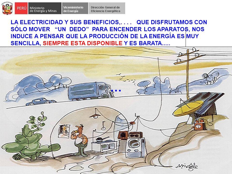 2 … LA ELECTRICIDAD Y SUS BENEFICIOS,....