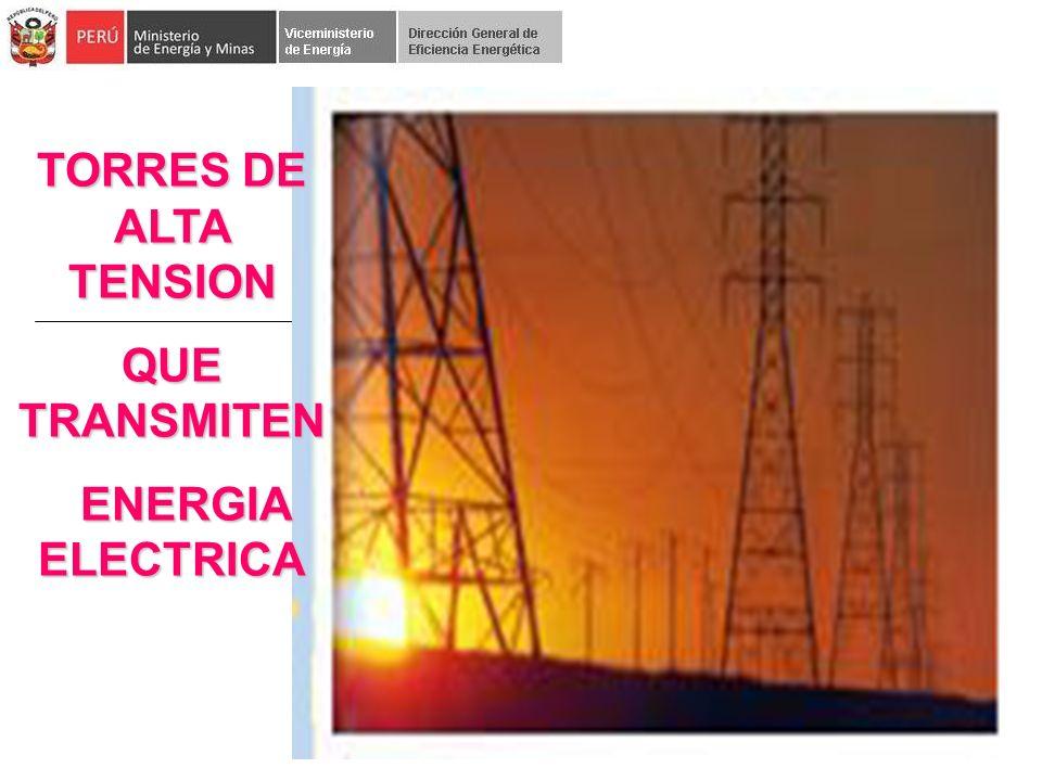 TORRES DE ALTA TENSION QUE TRANSMITEN ENERGIA ELECTRICA ENERGIA ELECTRICA