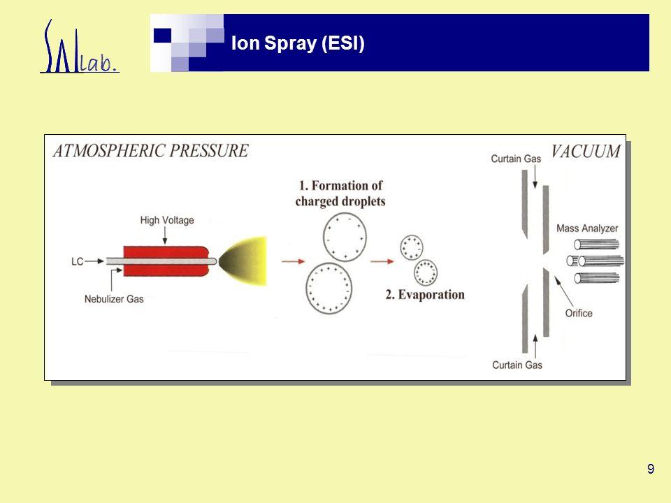 10 Ion Spray (ESI)