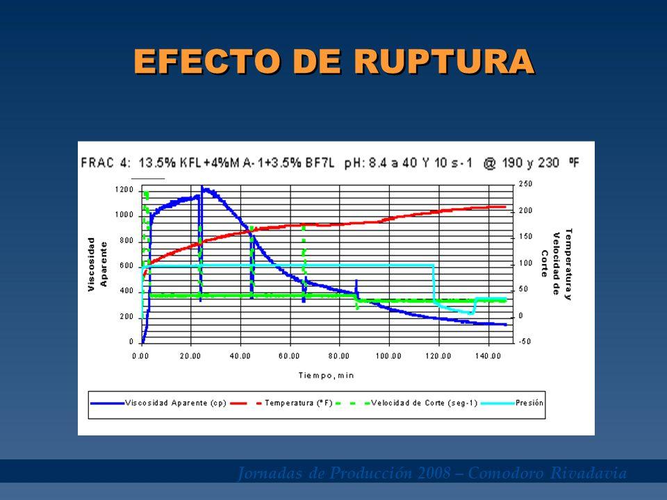 Jornadas de Producción 2008 – Comodoro Rivadavia EFECTO DE RUPTURA
