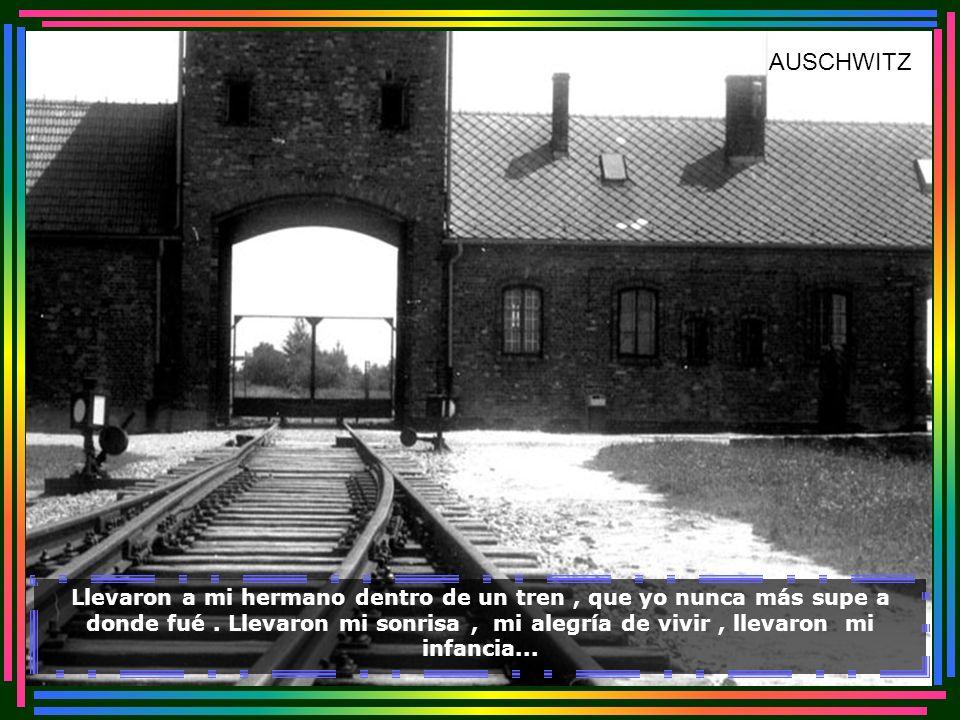 Me llevaron la estrella del cuello también. Llevaron a mis padres a un baño, del cual nunca regresaron... Câmara de Gás - Auschwitz