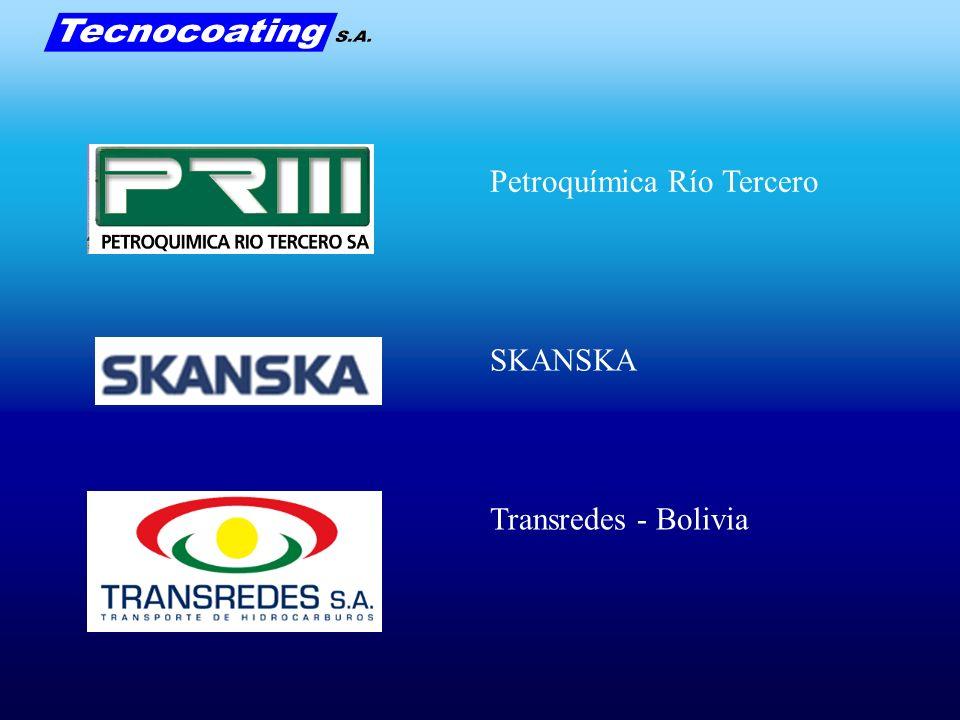 Petroquímica Río Tercero SKANSKA Transredes - Bolivia